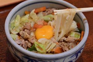 みそ五目きしめん-麺