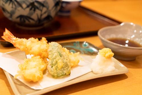 天盛り-天ぷら盛り合わせ