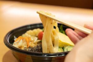 ごま酢きしめんテイクアウト・デリバリー用-麺