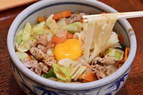 みそ五目きしめん-麺2